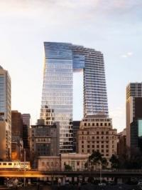 447 Collins Street to sparkle with Yuanda's stainless steel façade panels