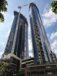 Façade installation on semi-occupied towers not an issue for Yuanda Australia