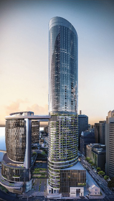 Yuanda Australia's expertise will be on display at Brisbane's newest landmark